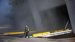 Έσβησε η φωτιά στο Ελευθέριος Βενιζέλος