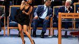 Funérailles d'Aretha Franklin : Ariana Grande s'attire gestes et regards déplacés
