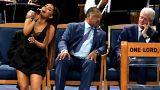 Fogdosási botrány Aretha Franklin gyászszertartásán