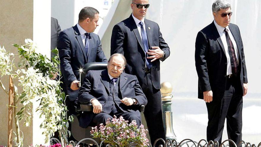 الرئيس الجزائري عبد العزيز بوتفليقة في الجزائر العاصمة