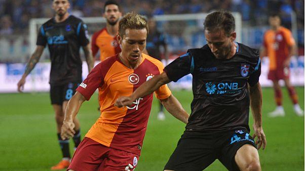 Trabzonspor - Galatasaray maçında 3 puan bordo mavililerin