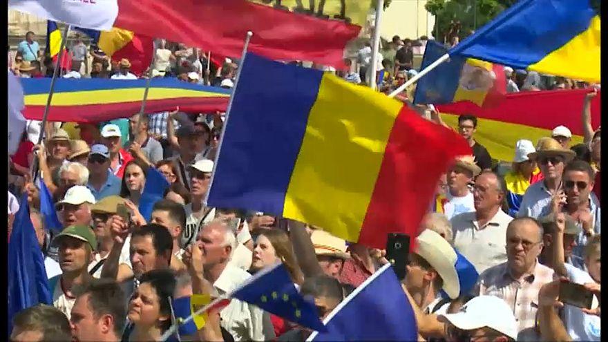 Moldawien: Demo für Wiedervereinigung mit Rumänien