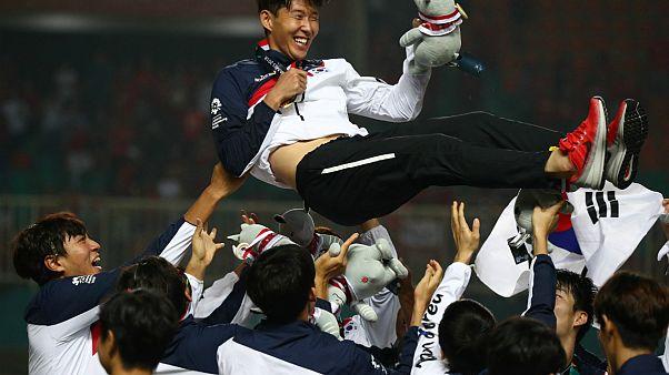 Ázsiai Játékok: győztek, így megúszta a katonaságot a Spurs sztárja