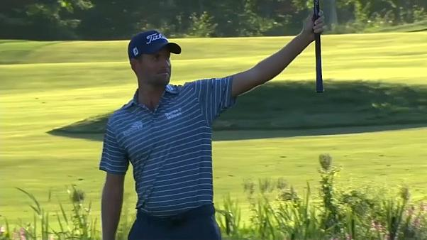 Golf: Webb Simpson in Massachusetts in Führung