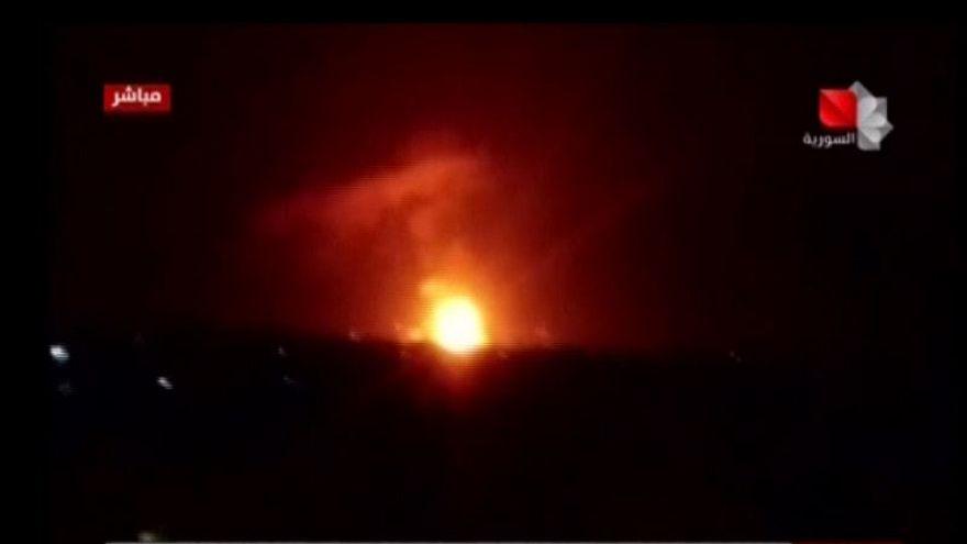 Suriye'de hava üssünde patlama: İsrail mi elektrik arızası mı?