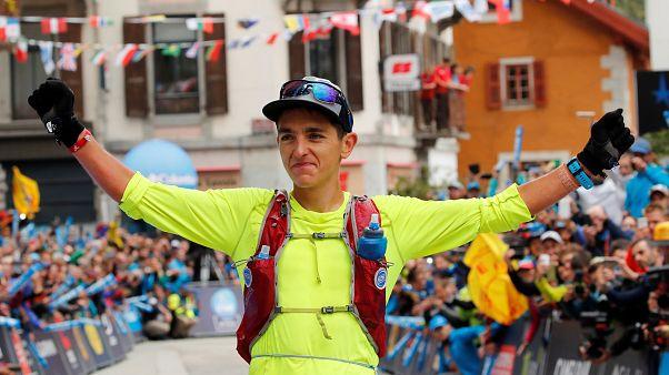 Xavier Thévenard survole l'Ultra Trail du Mont Blanc