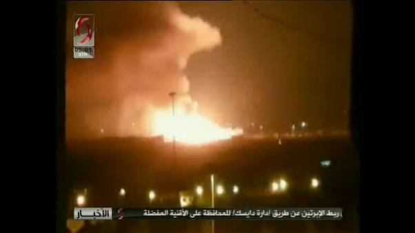 تضارب حول أسباب الإنفجار الذي هز محيط مطار المزة العسكري في دمشق