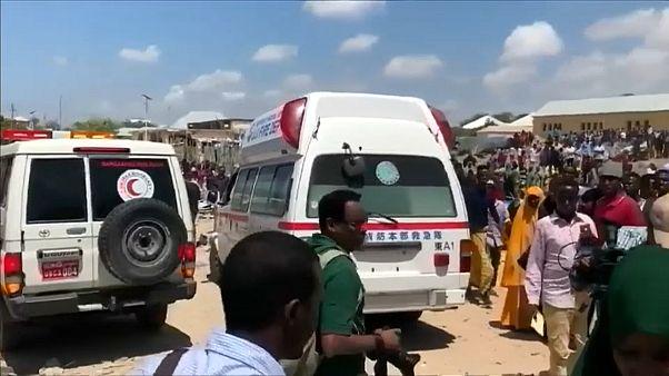 Autobombe in Mogadischu explodiert