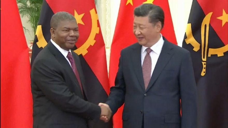 Lourenço e Nyusi em Pequim para cimeira China-África