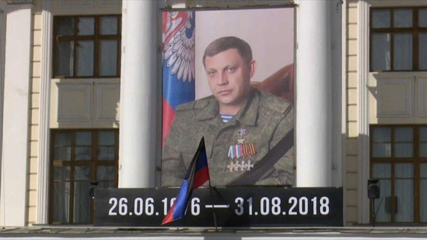 Decenas de miles de personas dan su último adiós al líder separatista prorruso Zajárchenko