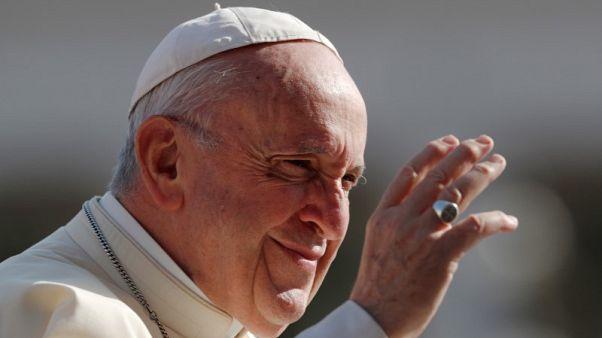 البابا فرنسيس في الفاتيكان يوم 29 أغسطس آب 2018.