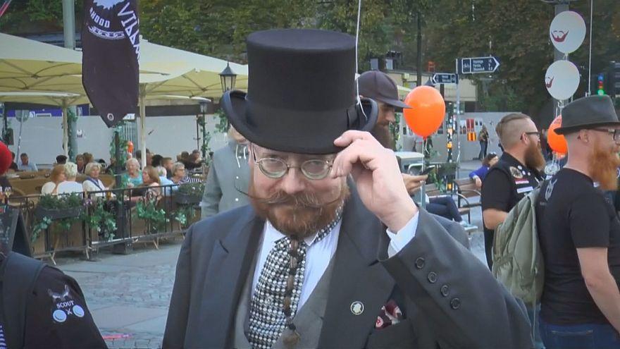 Бородатое дефиле в Стокгольме