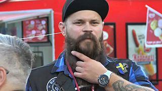 Zu Ehren der Gesichtsbehaarung: Bart-Festival in Stockholm