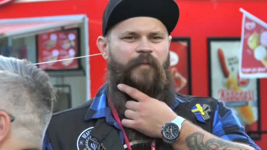 مهرجان عالمي للحى في السويد: عارضون وحلاقون يتنافسون على لقب أجمل لحية وأفضل قصة