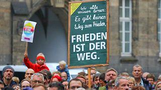 Rassemblement pacifique à Chemnitz