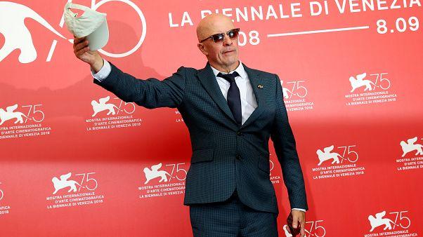 Regisseur Jaques Audiard bei den Filmfestspielen von Venedig.
