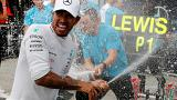 Hamilton gana en casa de Ferrari