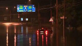 Elárasztotta az eső Nyugat-Szlovákiát