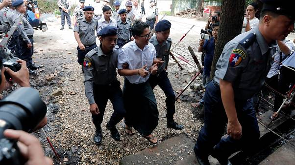 دو خبرنگار رویترز در میانمار به هفت سال زندان محکوم شدند