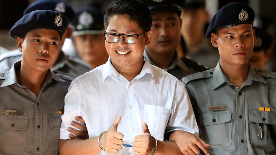 Μιανμάρ: Κάθειρξη επτά ετών σε δυο δημοσιογράφους του Reuters