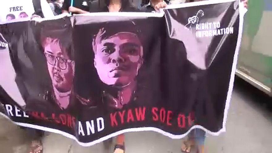 Börtön vár a Reuters tudósítóira Mianmarban