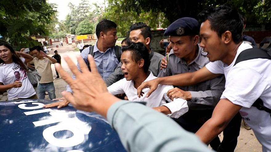 Мьянма: приговор журналистам Reuters