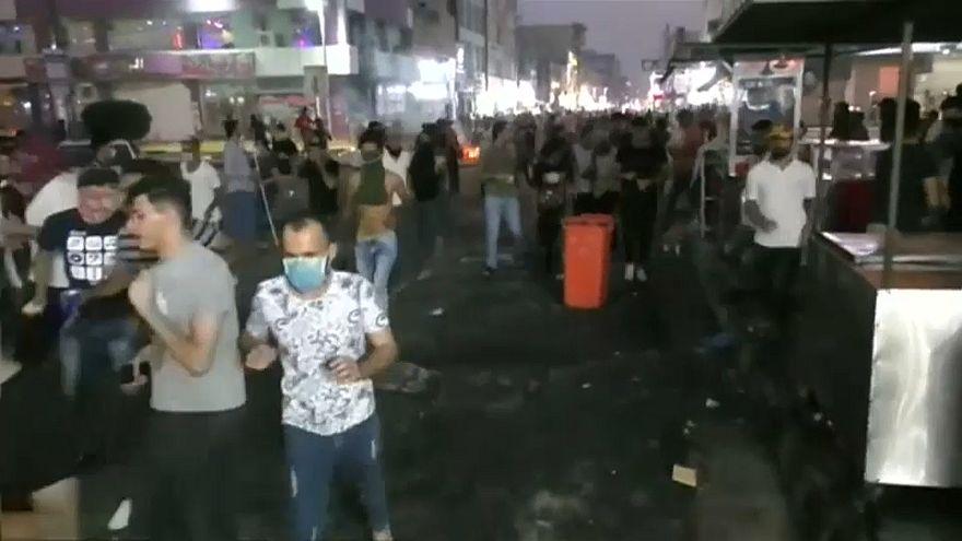 تجدد الاحتجاجات في البصرة والمحتجون يطالبون بالقضاء على الفساد