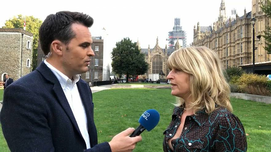 Rachel Johnson speaks with Euronews' Vincent McAviney