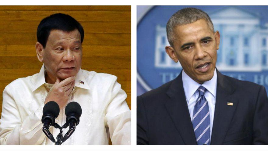 رئیس جمهوری فیلیپین بابت فحاشی به اوباما عذرخواهی کرد