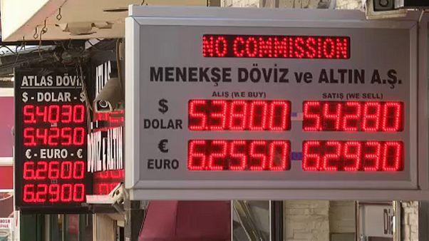 Másfél évtizedes csúcson a török infláció