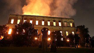 Brezilya'daki müze yangınında kül olan 5 önemli eser