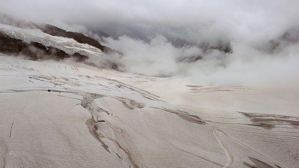 Ронский ледник подает SOS