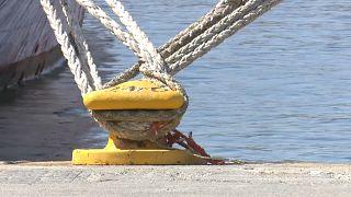 Seeleute wollen nicht länger verzichten: Erster Streik seit Griechen-Rettung