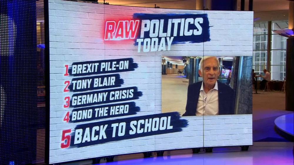 Raw Politics: Back to work, Brexit, German crime and is it literally 'Time for a Change'?