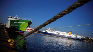 Grèce : grève du secteur maritime