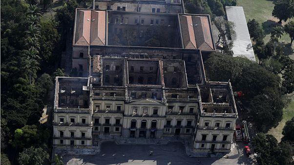 """As ruínas do Palácio de São Cristóvão, a """"casa"""" do Museu Nacional do Brasil"""