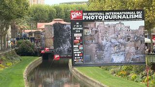 Sajtófotó-fesztivál Perpignanban