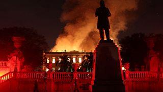 Ce qu'a perdu l'humanité dans l'incendie du Musée de Rio