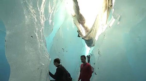 Eltűnnek a gleccserek Svájcban