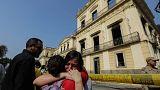 Почти вся коллекция Национального музея Бразилии сгорела