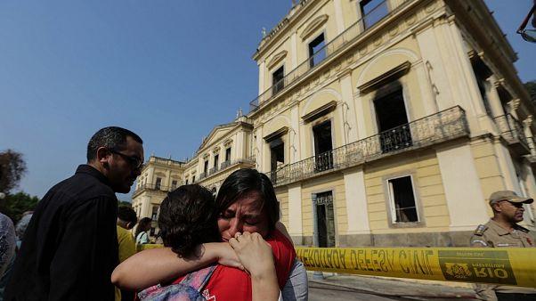Brasil busca dinero para reconstruir el Museo Nacional de Río de Janeiro