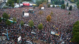 Almanya'da 50 bin kişi ırkçılığa 'hayır' konserine katıldı