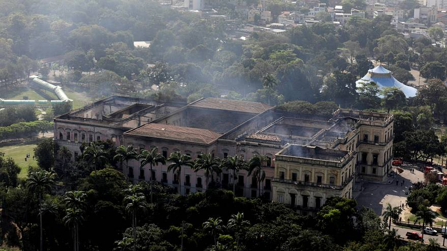 Brazil mourns loss of National Museum in fire