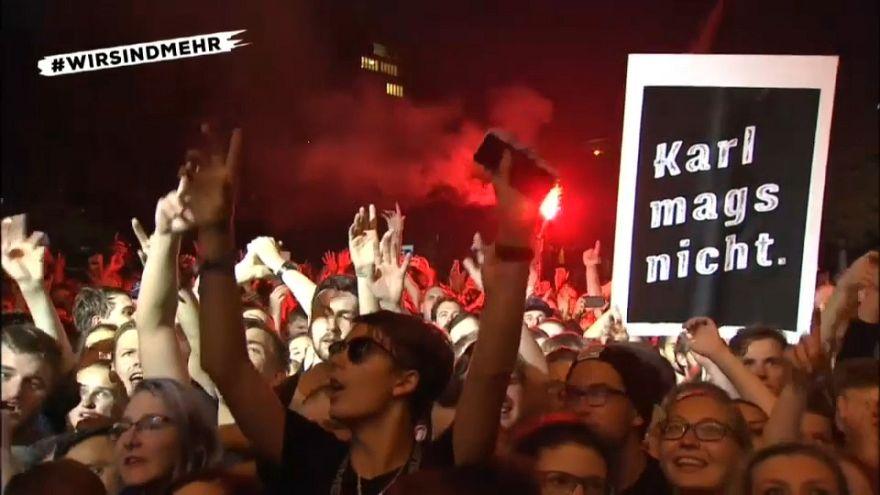 Chemnitz: Zehntausende rocken gegen Rechts