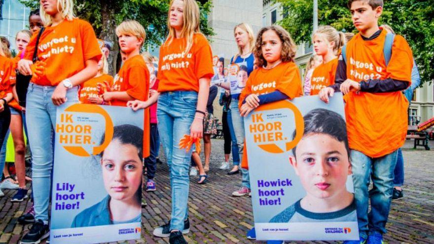Ermeni asıllı çocuklara verilen sınır dışı kararı Hollanda'yı ayağa kaldırdı