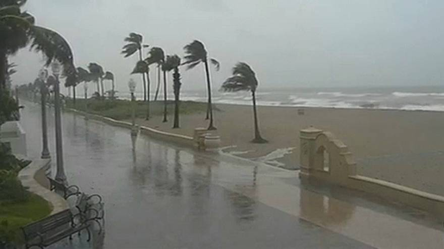 Trópusi vihar tart New Orleans felé