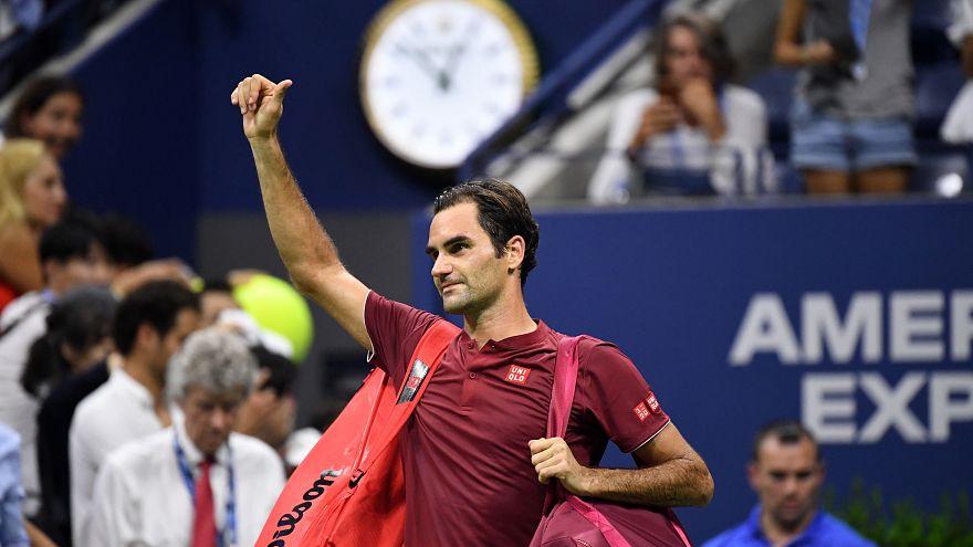 Roger Federer ist bei den US-Open gegen John Millman ausgeschieden