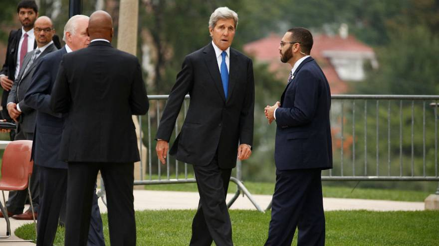www.dustaan.com ترامپ: جان کری به ایرانی ها گفته منتظر رفتن من باشند