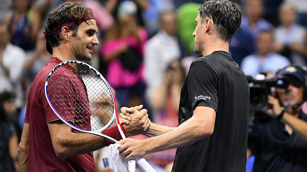 Millman elimina a Federer y jugará cuartos contra Djokovic