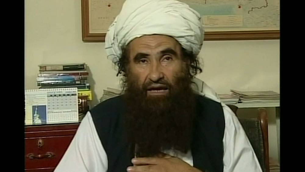 Taliban says leader of feared Haqqani network has died